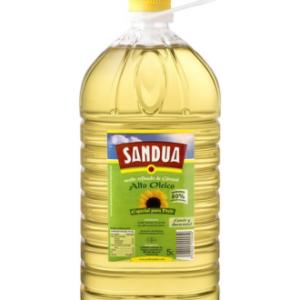 Aceite de girasol alto oleico Sandúa 5L
