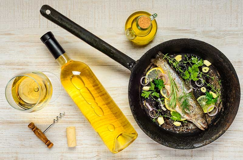 The oils for frying in a healthier way