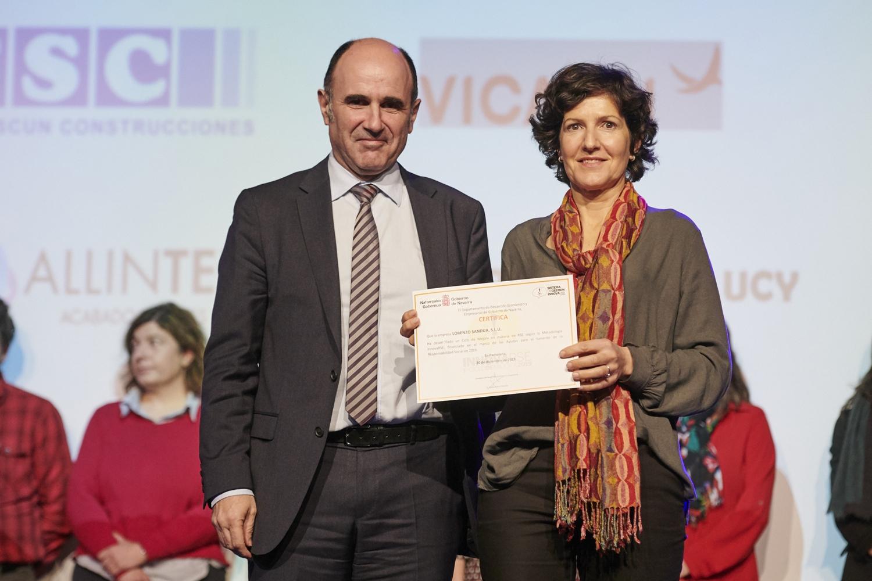 Sandúa recibe el Diploma InnovaRSE por su compromiso en materia de responsabilidad social