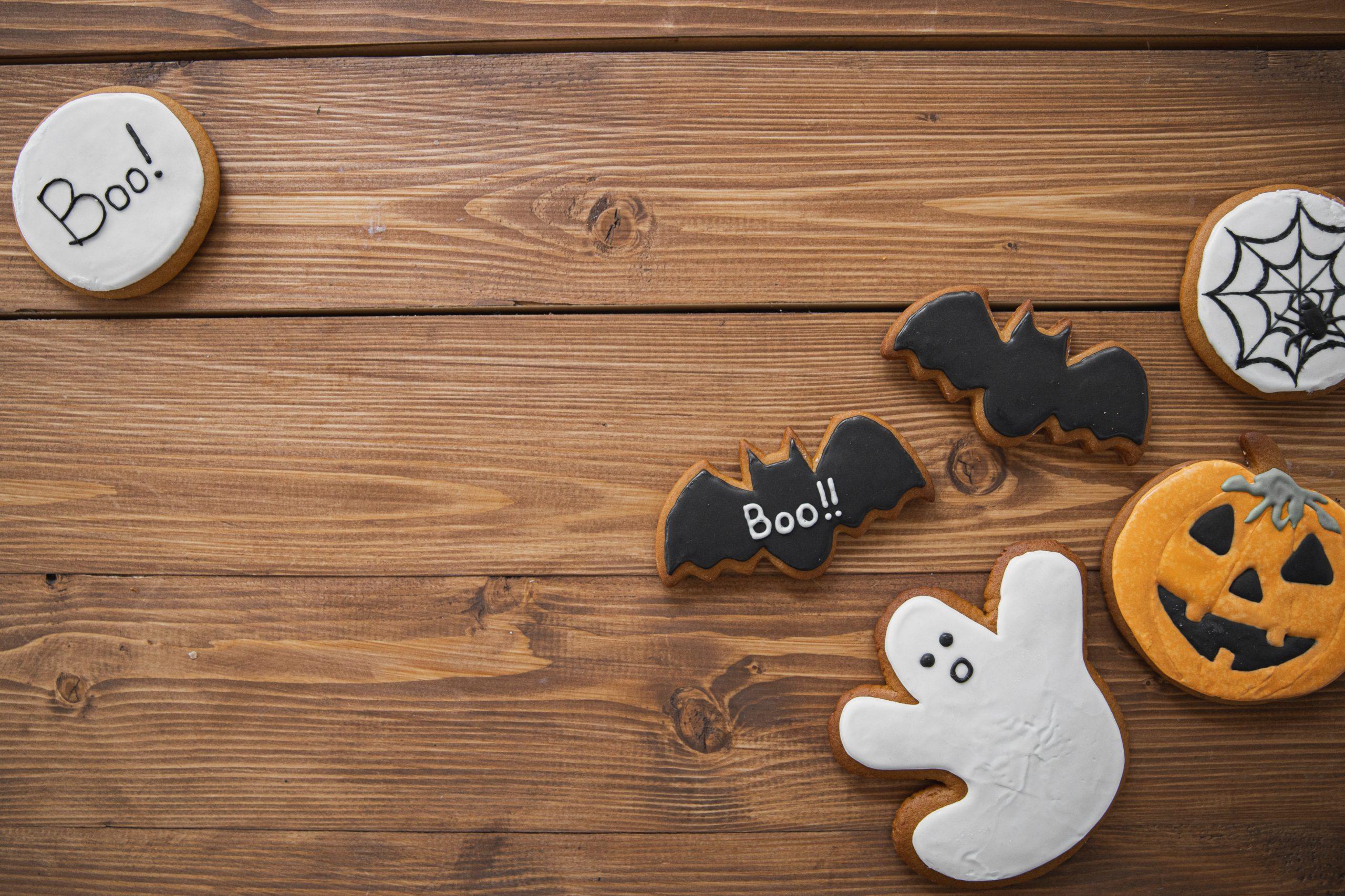 Cómo hacer galletas de calabaza para celebrar Halloween en casa