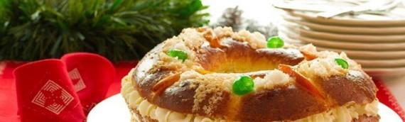 Gâteau des Rois à l'Huile d'Olive Vierge Extra Sandua