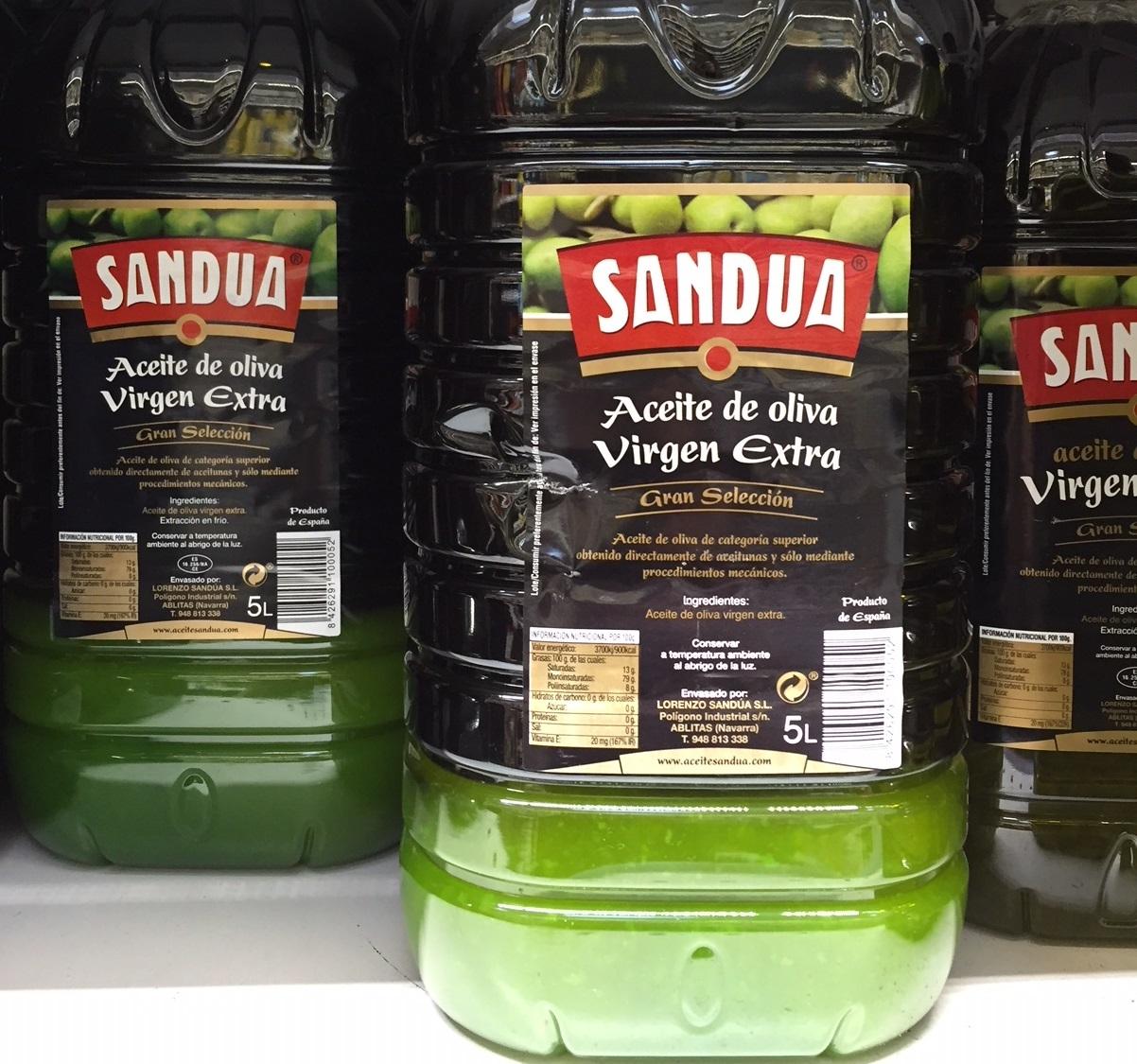L'huile d'olive gèle aussi